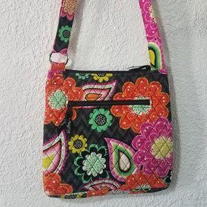 Vera Bradley floral crossbody purse